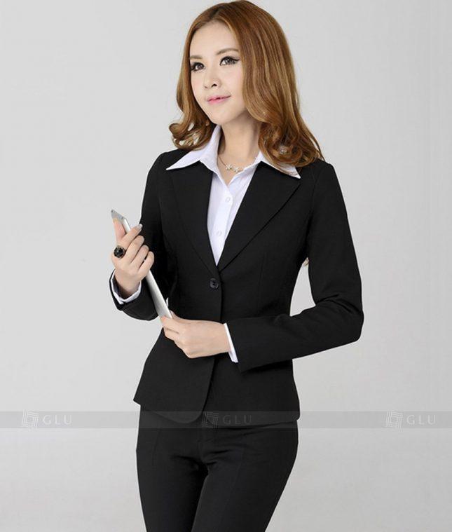 Ao Vest Dong Phuc Cong So GLU 214 áo sơ mi nữ đồng phục công sở