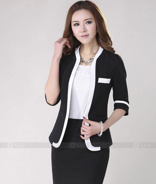 Ao Vest Dong Phuc Cong So GLU 217 áo sơ mi nữ đồng phục công sở