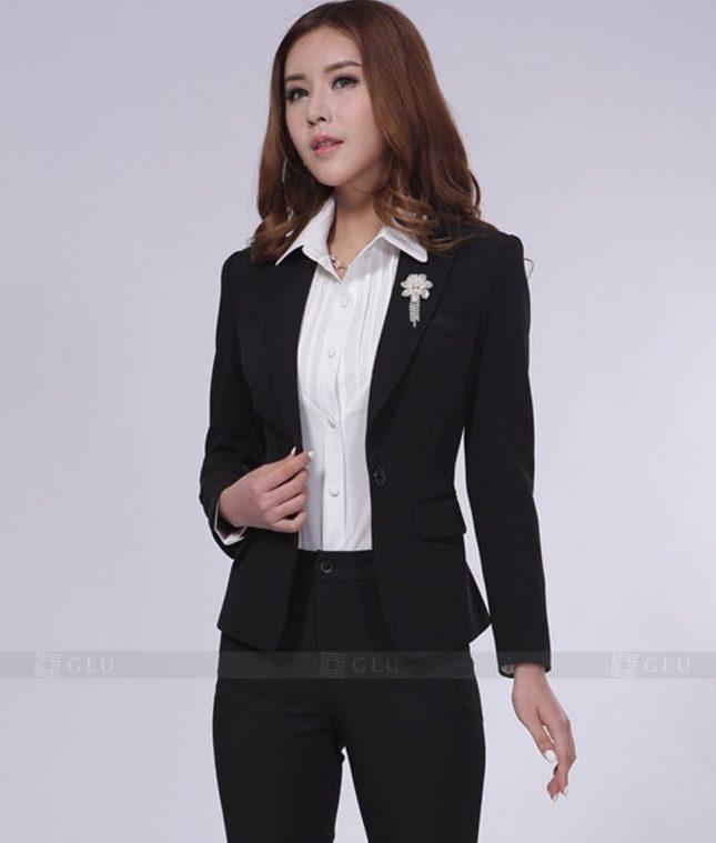 Ao Vest Dong Phuc Cong So GLU 219 áo sơ mi nữ đồng phục công sở