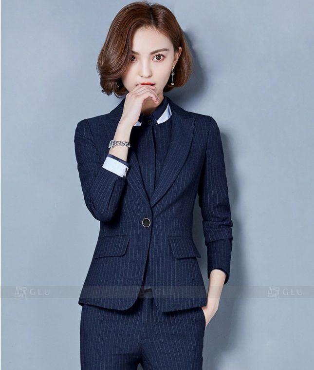 Ao Vest Dong Phuc Cong So GLU 220 áo sơ mi nữ đồng phục công sở
