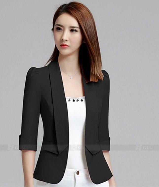 Ao Vest Dong Phuc Cong So GLU 221 áo sơ mi nữ đồng phục công sở