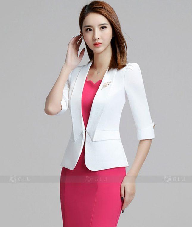 Ao Vest Dong Phuc Cong So GLU 222 áo sơ mi nữ đồng phục công sở