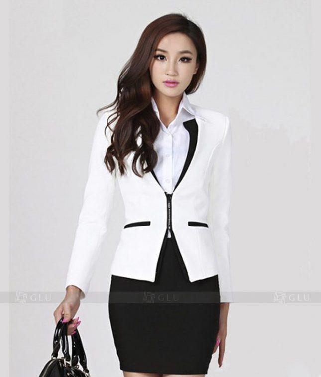 Ao Vest Dong Phuc Cong So GLU 223 áo sơ mi nữ đồng phục công sở