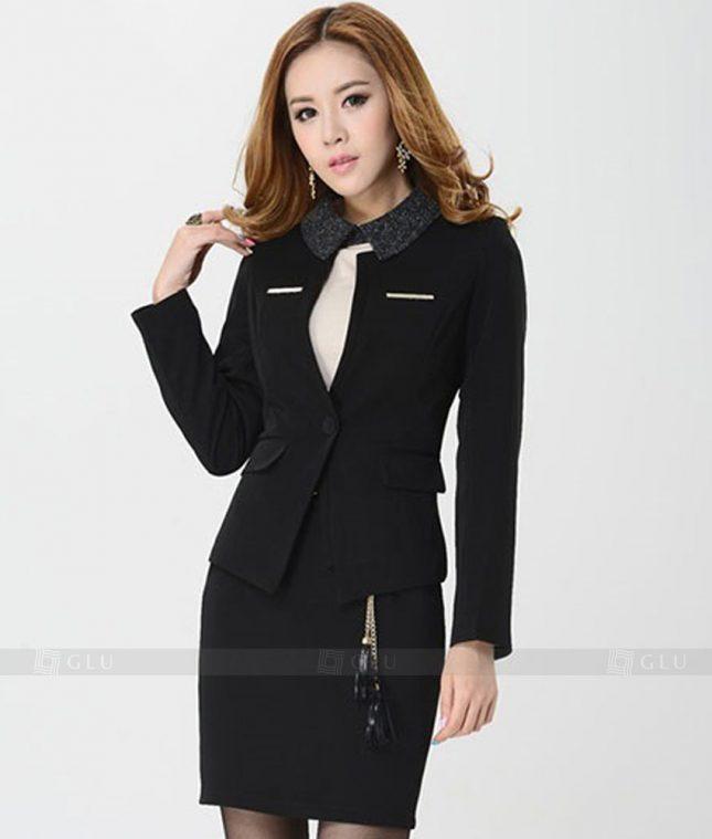 Ao Vest Dong Phuc Cong So GLU 224 áo sơ mi nữ đồng phục công sở