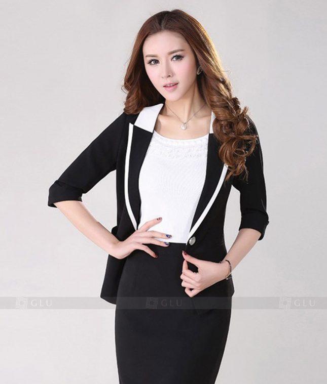 Ao Vest Dong Phuc Cong So GLU 225 áo sơ mi nữ đồng phục công sở