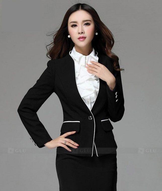 Ao Vest Dong Phuc Cong So GLU 226 áo sơ mi nữ đồng phục công sở