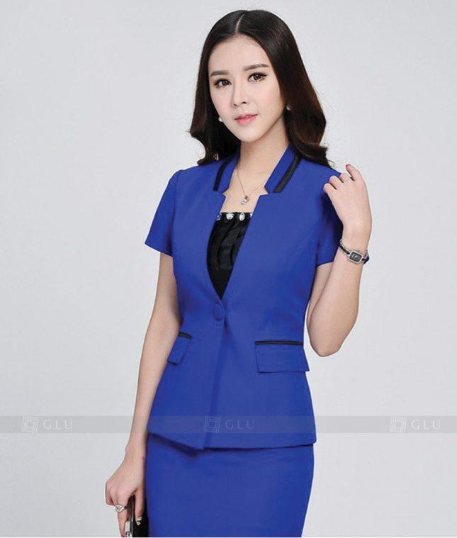 Ao Vest Dong Phuc Cong So GLU 229 áo sơ mi nữ đồng phục công sở