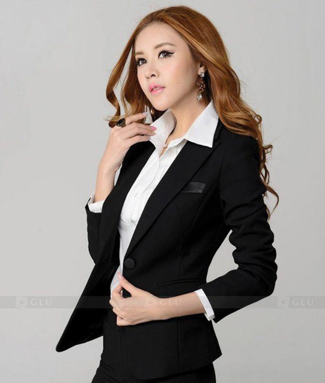 Ao Vest Dong Phuc Cong So GLU 231 áo sơ mi nữ đồng phục công sở