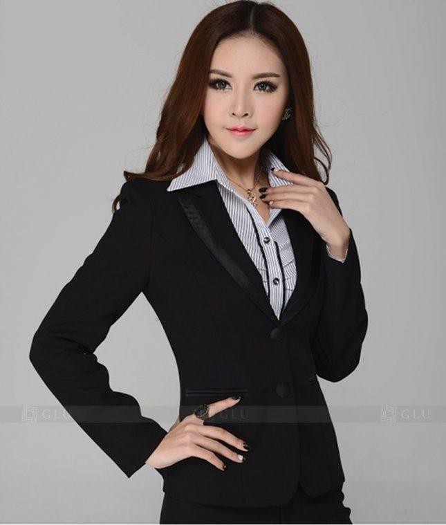 Ao Vest Dong Phuc Cong So GLU 232 áo sơ mi nữ đồng phục công sở