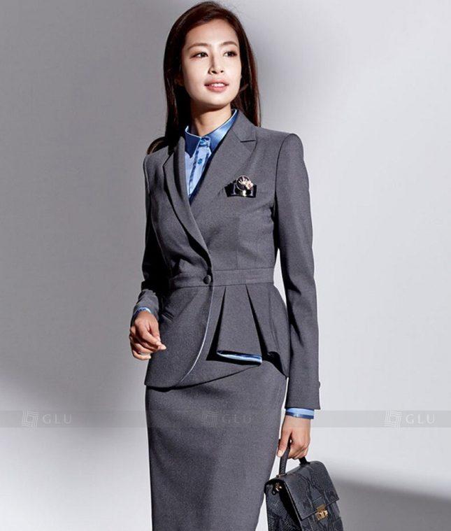 Ao Vest Dong Phuc Cong So GLU 233 áo sơ mi nữ đồng phục công sở
