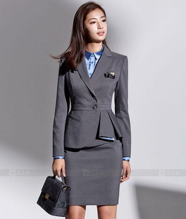 Ao Vest Dong Phuc Cong So GLU 234 áo sơ mi nữ đồng phục công sở