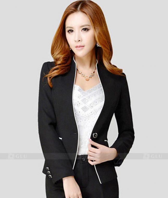 Ao Vest Dong Phuc Cong So GLU 237 áo sơ mi nữ đồng phục công sở