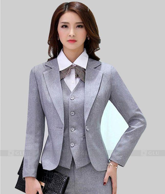 Ao Vest Dong Phuc Cong So GLU 239 áo sơ mi nữ đồng phục công sở
