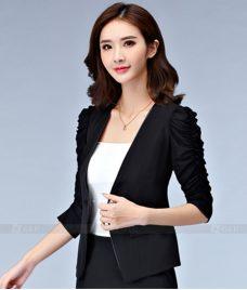 Ao Vest Dong Phuc Cong So GLU 241 Đồng Phục Công Sở