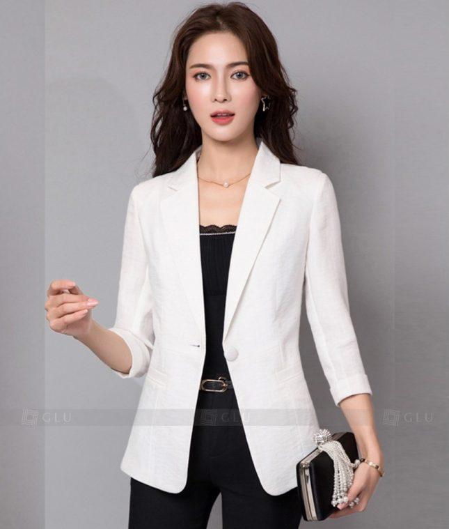 Ao Vest Dong Phuc Cong So GLU 242 áo sơ mi nữ đồng phục công sở