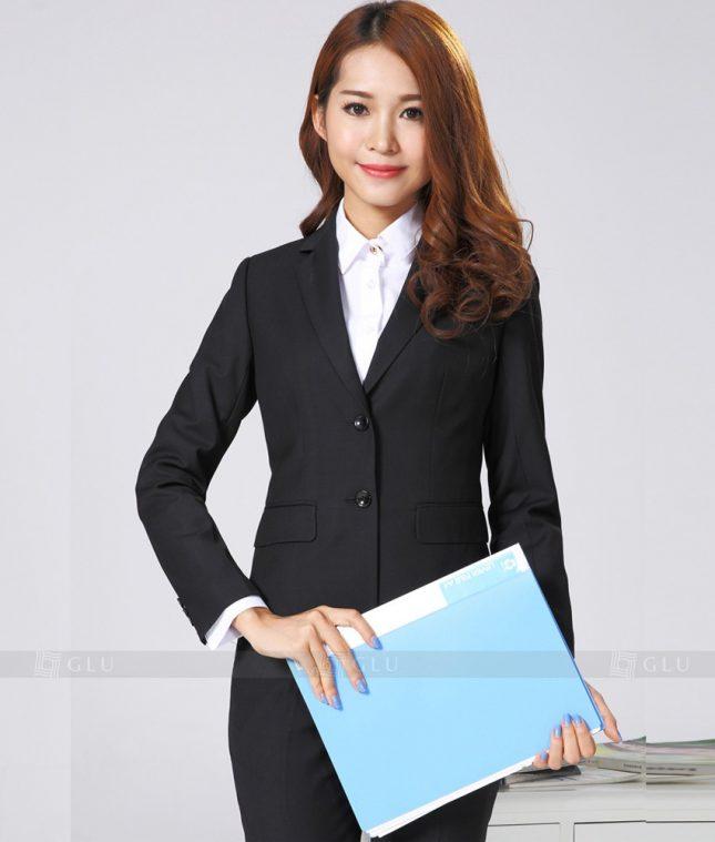 Ao Vest Dong Phuc Cong So GLU 245 áo sơ mi nữ đồng phục công sở