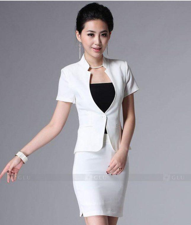 Ao Vest Dong Phuc Cong So GLU 248 áo sơ mi nữ đồng phục công sở