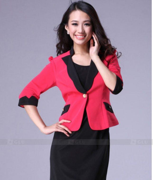 Ao Vest Dong Phuc Cong So GLU 249 áo sơ mi nữ đồng phục công sở