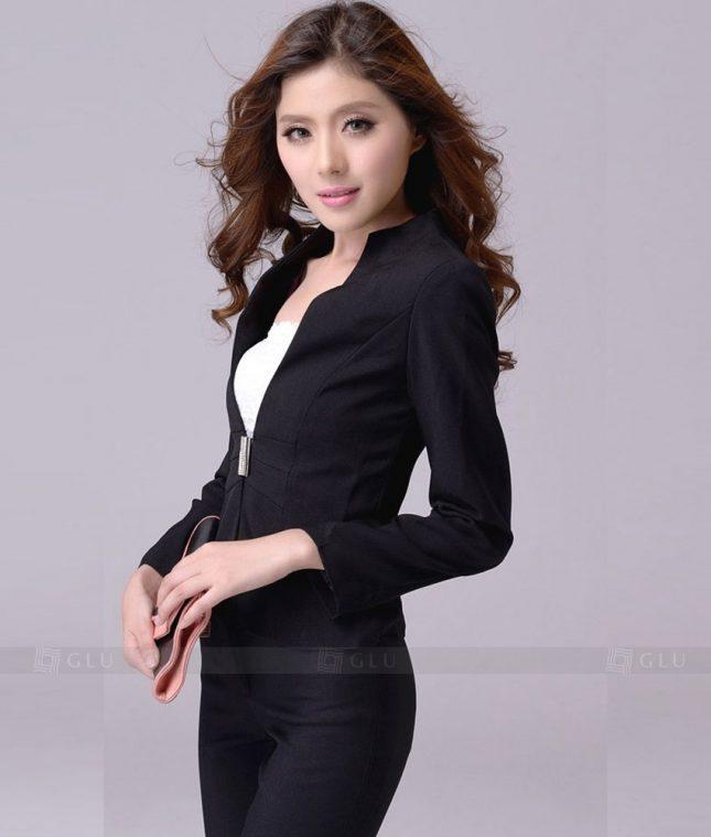 Ao Vest Dong Phuc Cong So GLU 253 áo sơ mi nữ đồng phục công sở