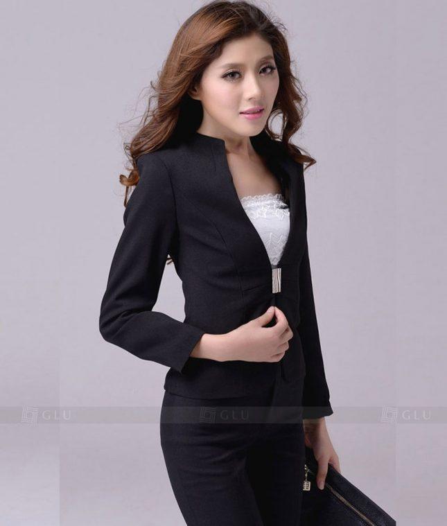 Ao Vest Dong Phuc Cong So GLU 254 áo sơ mi nữ đồng phục công sở