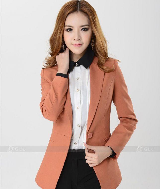 Ao Vest Dong Phuc Cong So GLU 255 áo sơ mi nữ đồng phục công sở