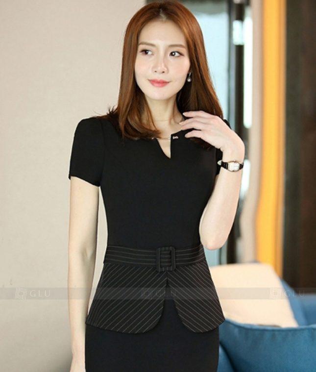 Ao Vest Dong Phuc Cong So GLU 259 áo sơ mi nữ đồng phục công sở
