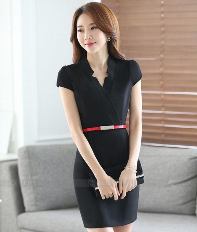Ao Vest Dong Phuc Cong So GLU 264 áo sơ mi nữ đồng phục công sở