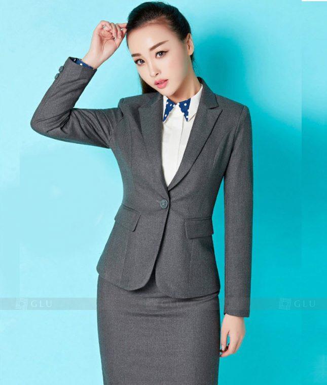 Ao Vest Dong Phuc Cong So GLU 269 áo sơ mi nữ đồng phục công sở