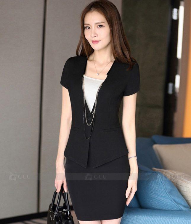 Ao Vest Dong Phuc Cong So GLU 276 áo sơ mi nữ đồng phục công sở
