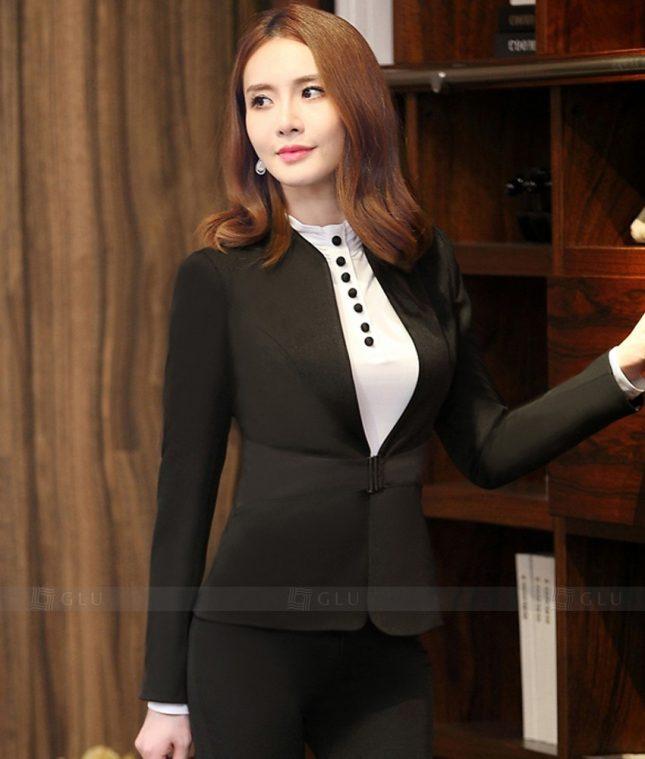 Ao Vest Dong Phuc Cong So GLU 277 áo sơ mi nữ đồng phục công sở