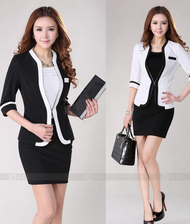 Ao Vest Dong Phuc Cong So GLU 279 áo sơ mi nữ đồng phục công sở