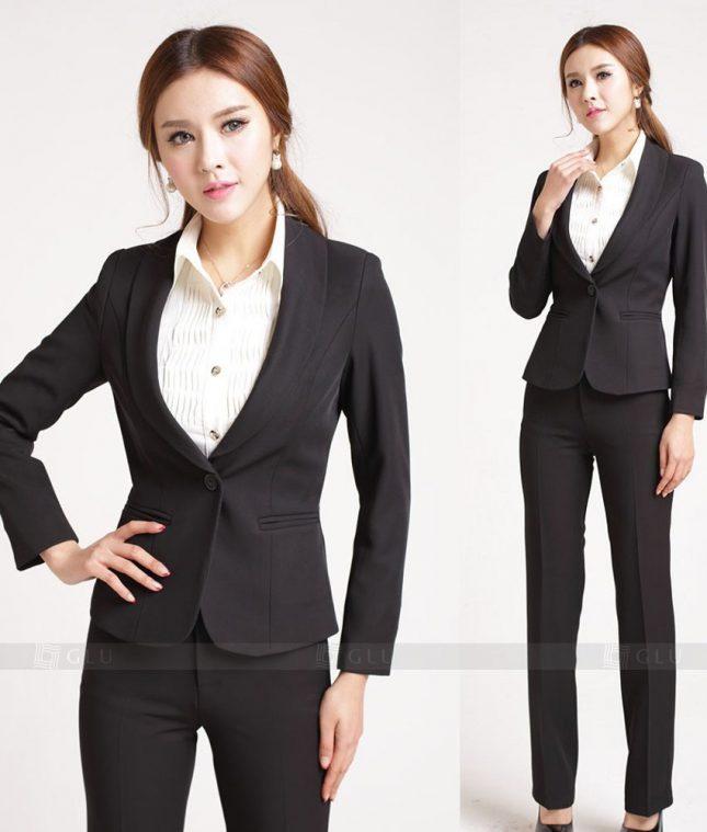 Ao Vest Dong Phuc Cong So GLU 280 áo sơ mi nữ đồng phục công sở
