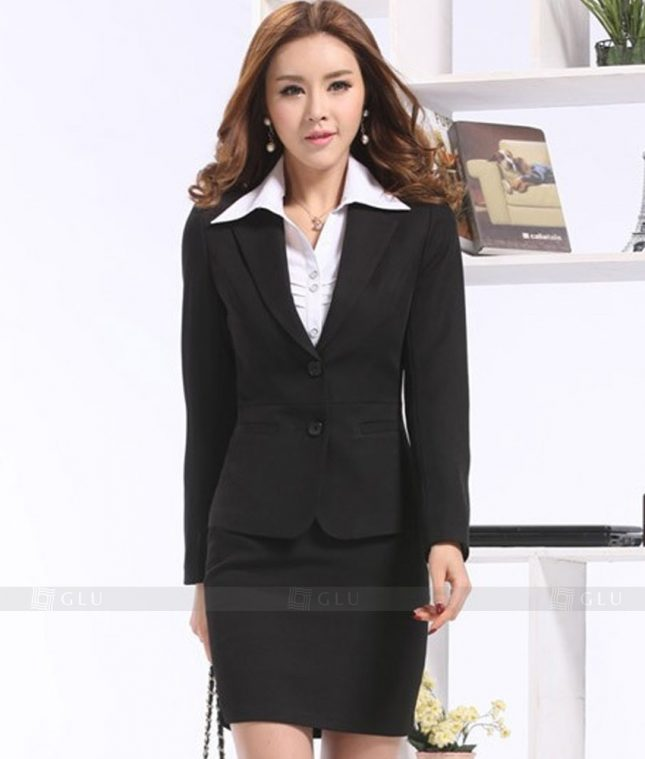 Ao Vest Dong Phuc Cong So GLU 291 áo sơ mi nữ đồng phục công sở