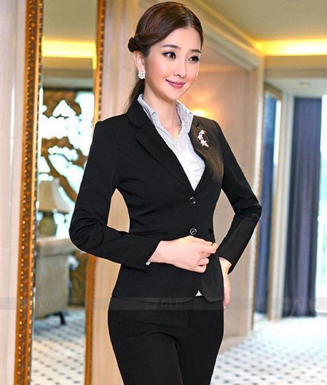 Ao Vest Dong Phuc Cong So GLU 292 áo sơ mi nữ đồng phục công sở