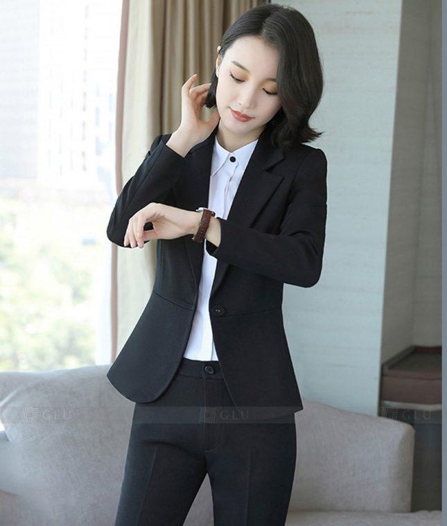 Ao Vest Dong Phuc Cong So GLU 293 áo sơ mi nữ đồng phục công sở
