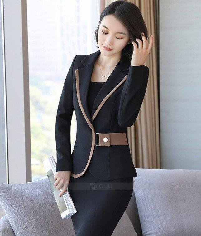 Ao Vest Dong Phuc Cong So GLU 294 áo sơ mi nữ đồng phục công sở