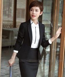 Ao Vest Dong Phuc Cong So GLU 296 Đồng Phục Công Sở