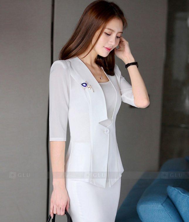 Ao Vest Dong Phuc Cong So GLU 298 áo sơ mi nữ đồng phục công sở