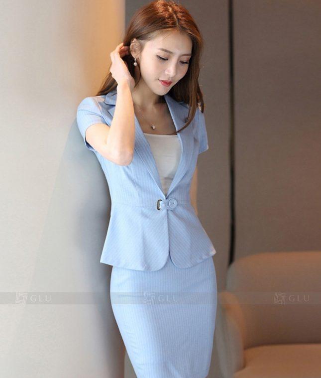 Ao Vest Dong Phuc Cong So GLU 299 áo sơ mi nữ đồng phục công sở