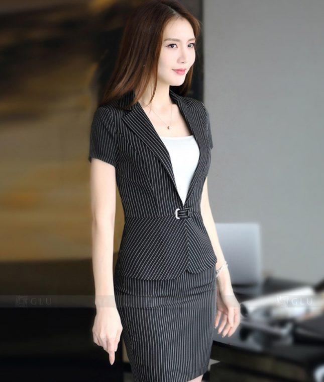 Ao Vest Dong Phuc Cong So GLU 300 áo sơ mi nữ đồng phục công sở
