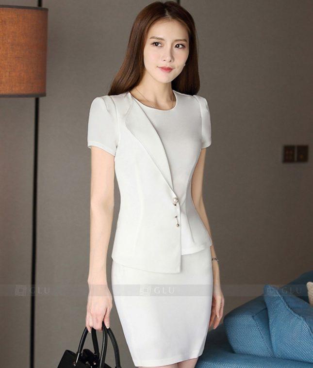 Ao Vest Dong Phuc Cong So GLU 302 áo sơ mi nữ đồng phục công sở