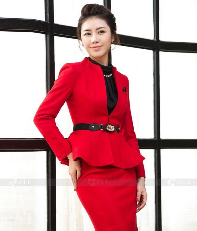 Ao Vest Dong Phuc Cong So GLU 303 áo sơ mi nữ đồng phục công sở