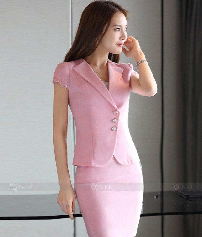 Ao Vest Dong Phuc Cong So GLU 305 áo sơ mi nữ đồng phục công sở