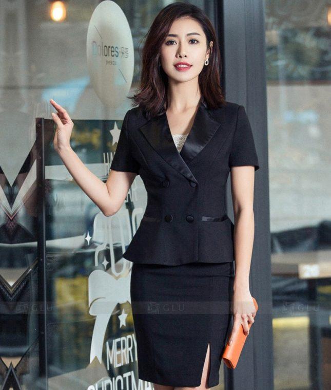 Ao Vest Dong Phuc Cong So GLU 306 áo sơ mi nữ đồng phục công sở