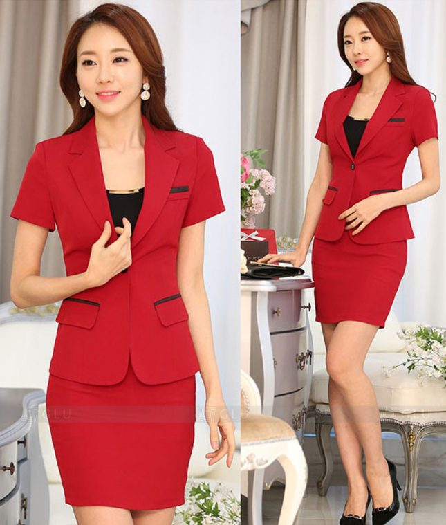 Ao Vest Dong Phuc Cong So GLU 311 áo sơ mi nữ đồng phục công sở
