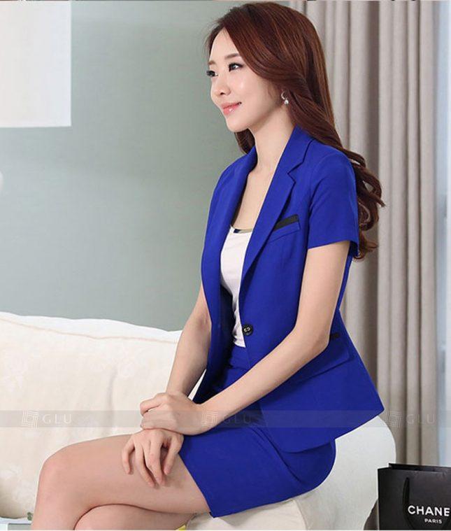 Ao Vest Dong Phuc Cong So GLU 312 áo sơ mi nữ đồng phục công sở