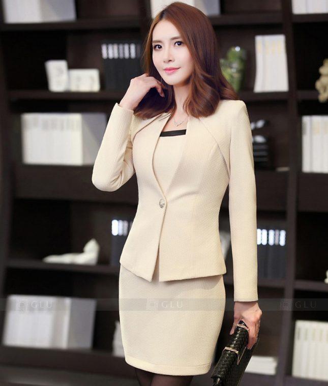 Ao Vest Dong Phuc Cong So GLU 317 áo sơ mi nữ đồng phục công sở