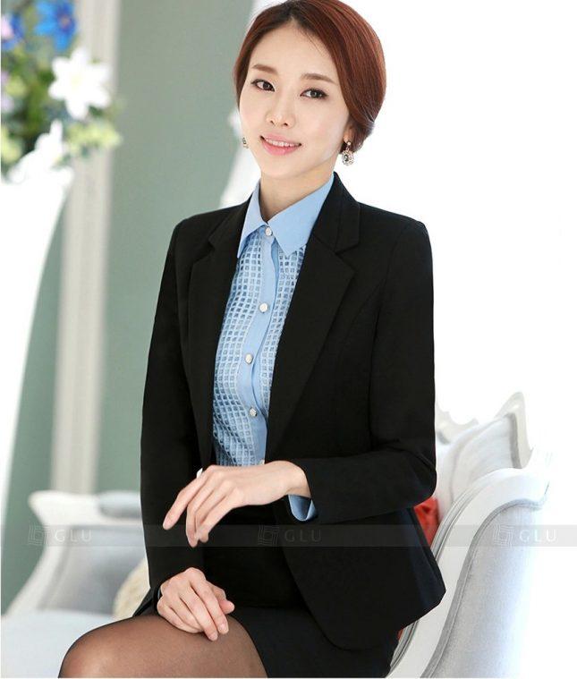 Ao Vest Dong Phuc Cong So GLU 319 áo sơ mi nữ đồng phục công sở