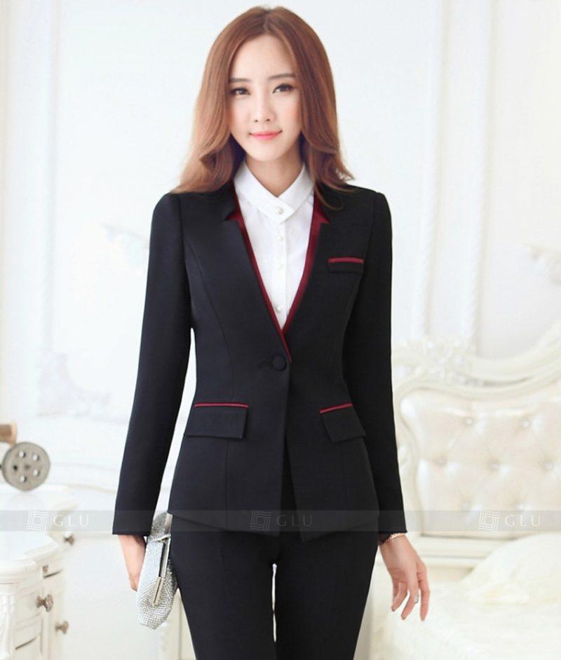 Ao Vest Dong Phuc Cong So GLU 323
