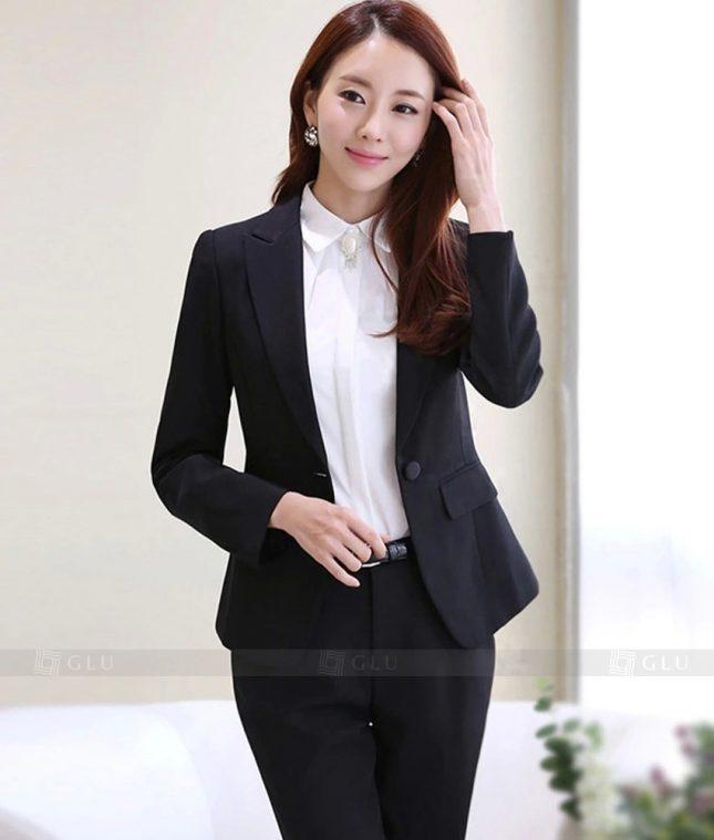 Ao Vest Dong Phuc Cong So GLU 326 áo sơ mi nữ đồng phục công sở